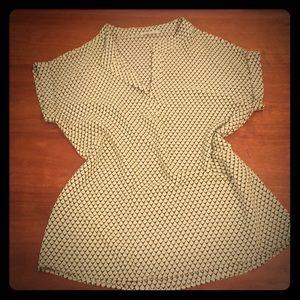 Pleione geometric blouse